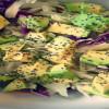 čerstvý salát|šťastná a zdravá